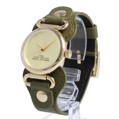 THE MARC JACOBS / ザ マークジェイコブス MJ0120179289 ザ カフウォッチ 腕時計 レディース レザー ゴールド 【あす楽対応_東海】