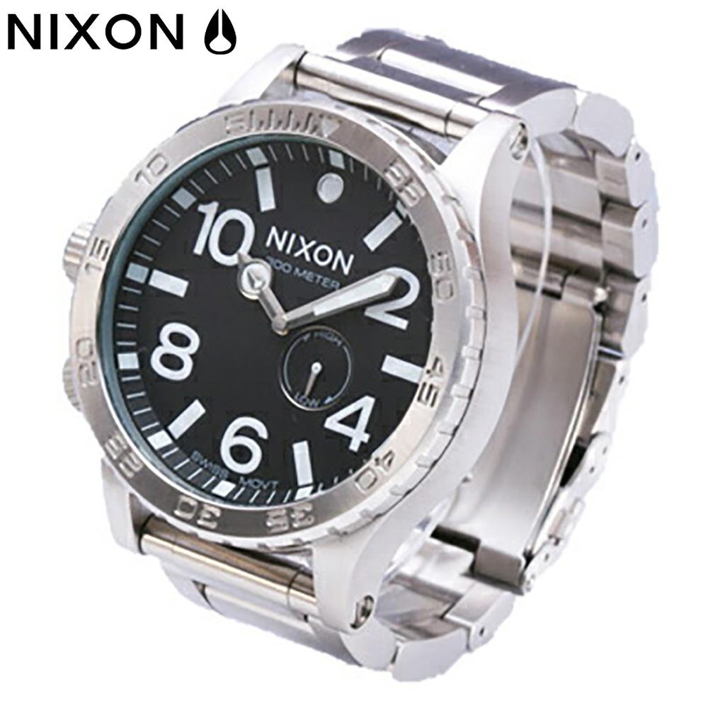 NIXON / ニクソン THE 51-30 / フィフティワンサーティA057000 BLACK / THE 51-30 メタルベルト 【あす楽対応_東海】