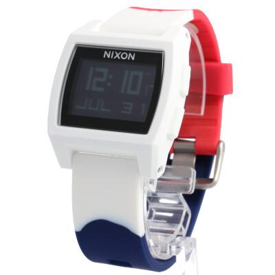 NIXON / ニクソン BASE TIDE / ベースタイド A1104083腕時計 ユニセックス デジタル ホワイト 【あす楽対応_東海】