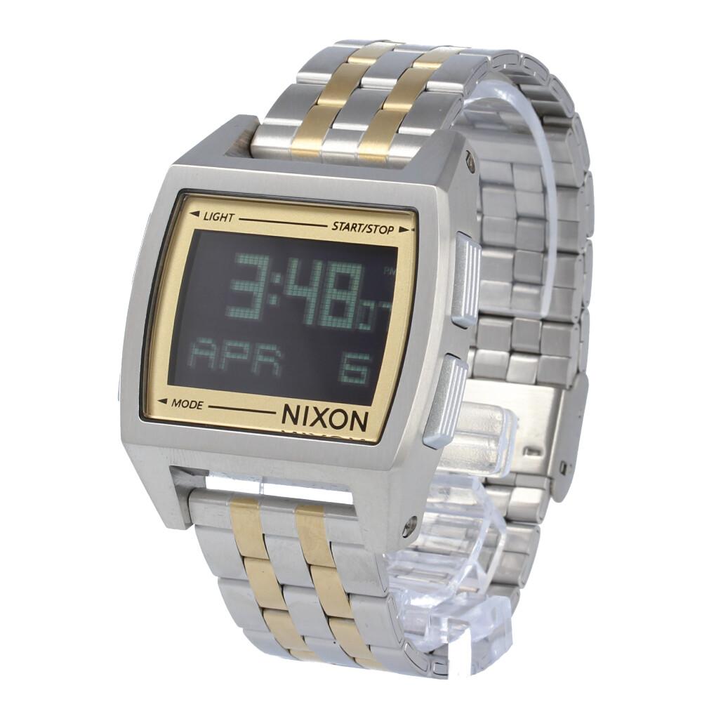 NIXON / ニクソン A11071431 THE BASE ベース 腕時計 メンズ レディース ユニセックス デジタル ゴールド シルバー 【あす楽対応_東海】