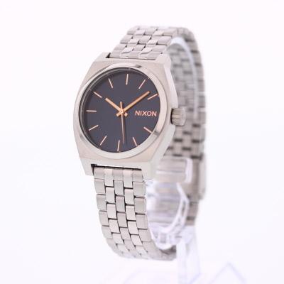NIXON / ニクソン Medium Time Teller / ミディアムタイムテラー A11302195腕時計 レディース ネイビー ローズゴールド 【あす楽対応_東海】