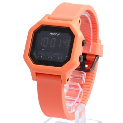 NIXON / ニクソン A12102876 サイレン THE SIREN 腕時計 ライトタンジェリン メンズ レディース ユニセックス ボーイズ ラバーベルト デジタル LIGHT TANGERINE 【あす楽対応_東海】