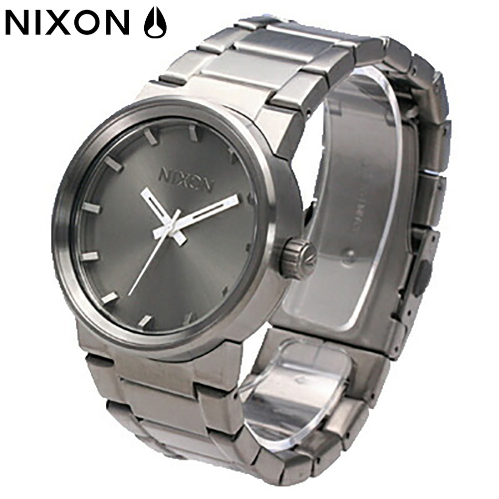 NIXON / ニクソンTHE CANNON / キャノンA160632 ALL GUNMETAL / THE CANNON ALL GUNMETAL 【あす楽対応_東海】
