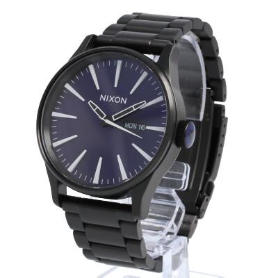 NIXON / ニクソン A3562668 THE SENTRY SS セントリー 腕時計 メンズ THE AFTER DARK Collection ステンレスベルト ブラック 【あす楽対応_東海】