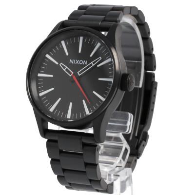 NIXON / ニクソン THE SENTRY / セントリー A450005腕時計 メンズ オールブラック 【あす楽対応_東海】