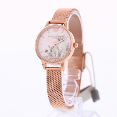 OLIVIA BURTON / オリビアバートン OB16WL76腕時計 レディース イラステッドアニマル ローズゴールドメッシュ 【あす楽対応_東海】
