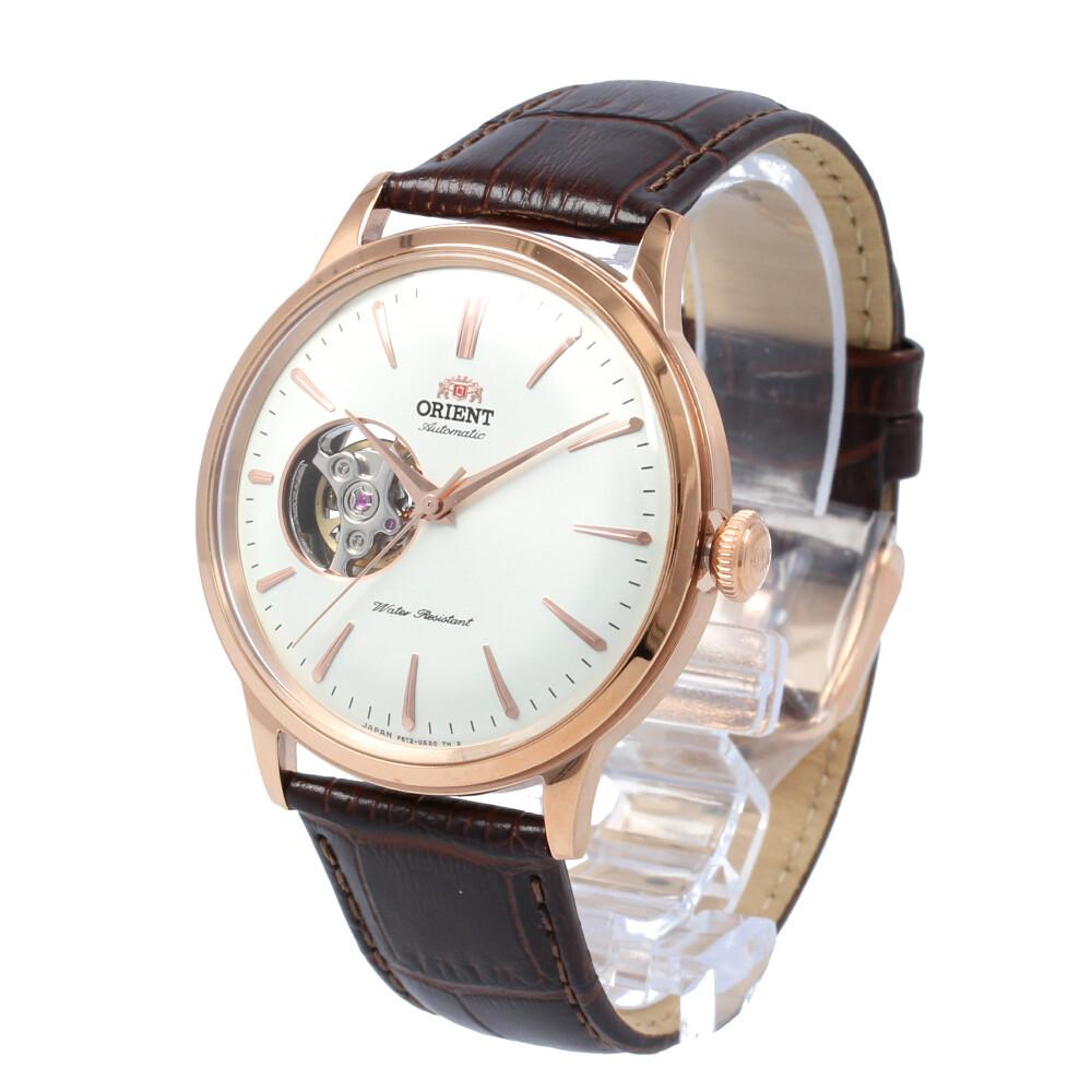 ORIENT / オリエント RN-AG0004S CLASSIC クラシック 腕時計 メンズ 自動巻き レザー ローズゴールド セミスケルトン シースルーバック 【あす楽対応_東海】
