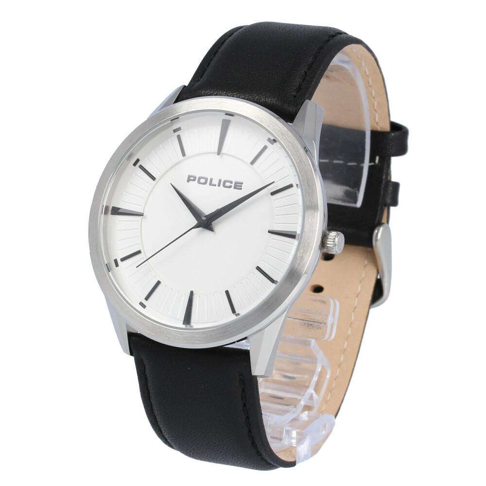 POLICE / ポリス PL.15967JS/04 Patriot パトリオット 腕時計 メンズ ラバー シルバー ブラック 【あす楽対応_東海】