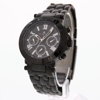 SALVATORE MARRA / サルバトーレマーラ SM14118-IPBKメンズ 腕時計 【あす楽対応_東海】
