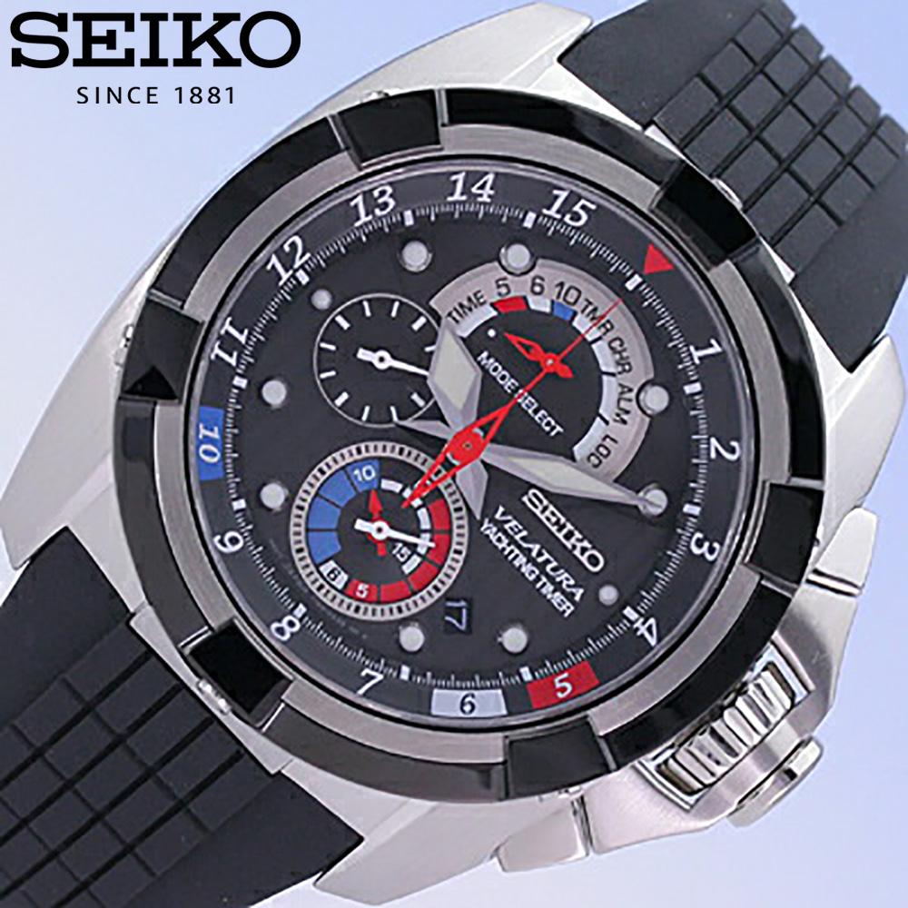 SEIKO/精工VELATURA/berachura SPC007P1/帆船计时器方式搭载1/5秒计测计时仪