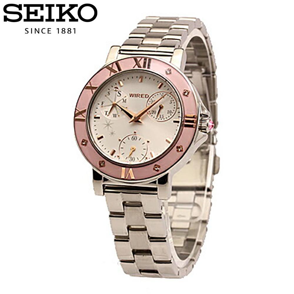 SEIKO / セイコー WIRED / ワイアードAGET402 レディース 腕時計【2~3営業日以内に発送】