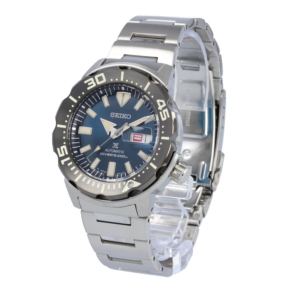 SEIKO PROSPEX / セイコー プロスペックス SBDY033 ダイバーズウォッチ 腕時計 メンズ ステンレス ブルー シルバー Monster モンスター 手巻き付き自動巻き 【あす楽対応_東海】