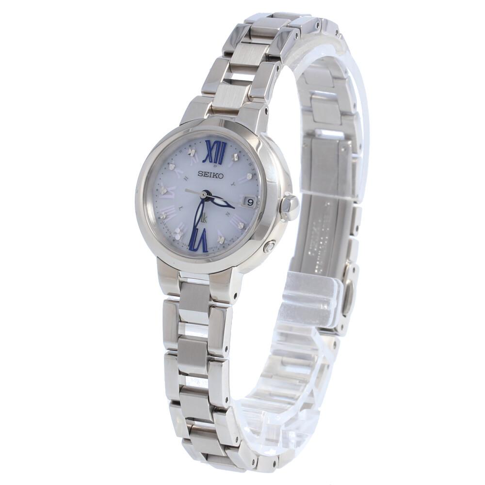 SEIKO LUKIA / セイコー ルキア SSVW135 腕時計 レディース 電波ソーラー ステンレス シルバー 【あす楽対応_東海】