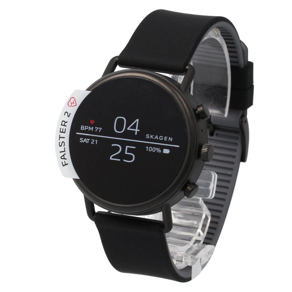 SKAGEN / スカーゲン SKT5100 スマートウォッチ タッチスクリーン メンズ レディース ユニセックス 腕時計 ブラック 防水 【あす楽対応_東海】