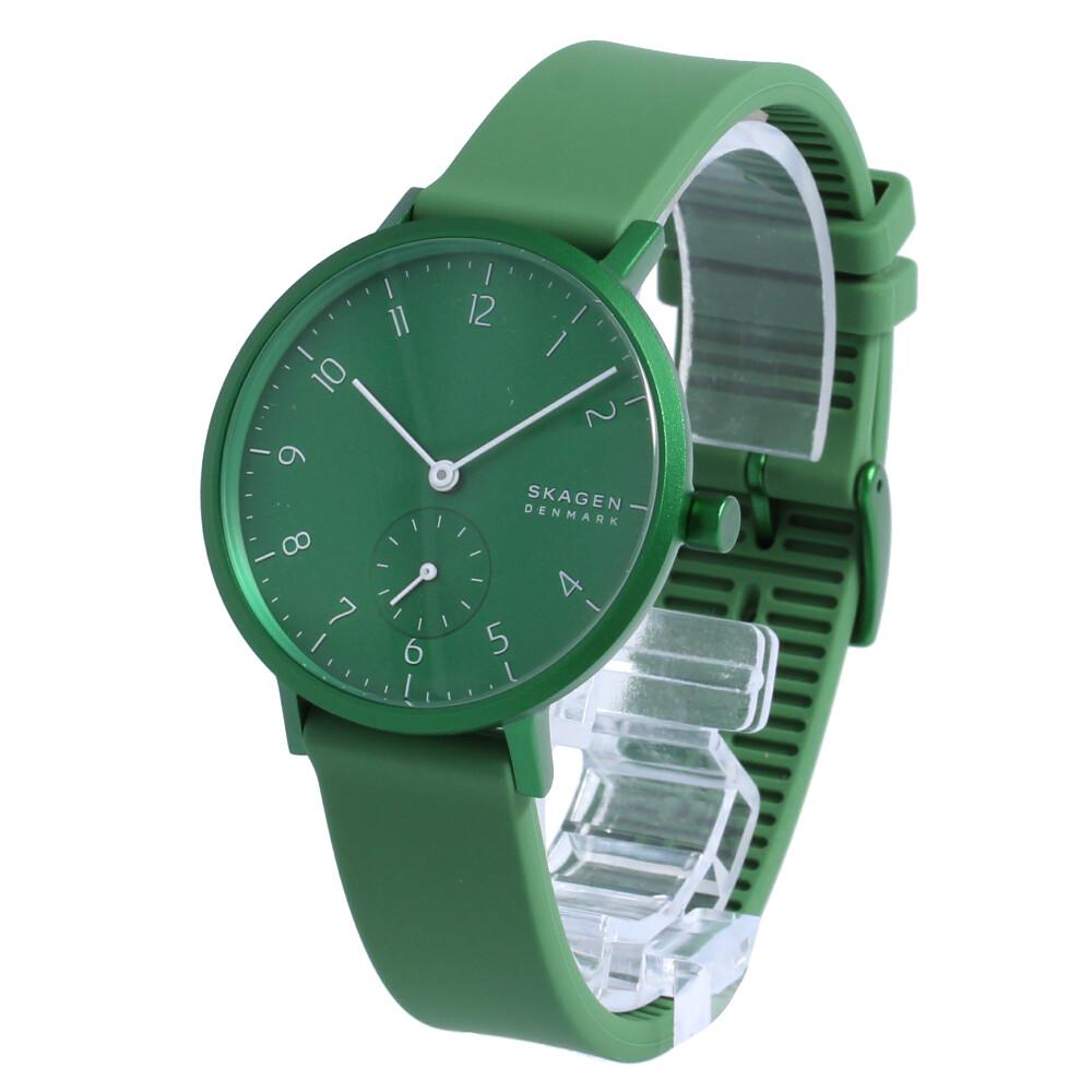 SKAGEN / スカーゲン SKW2804 Aaren Kulor アーレンカラー 腕時計 レディース グリーン アルミ シリコン 【あす楽対応_東海】