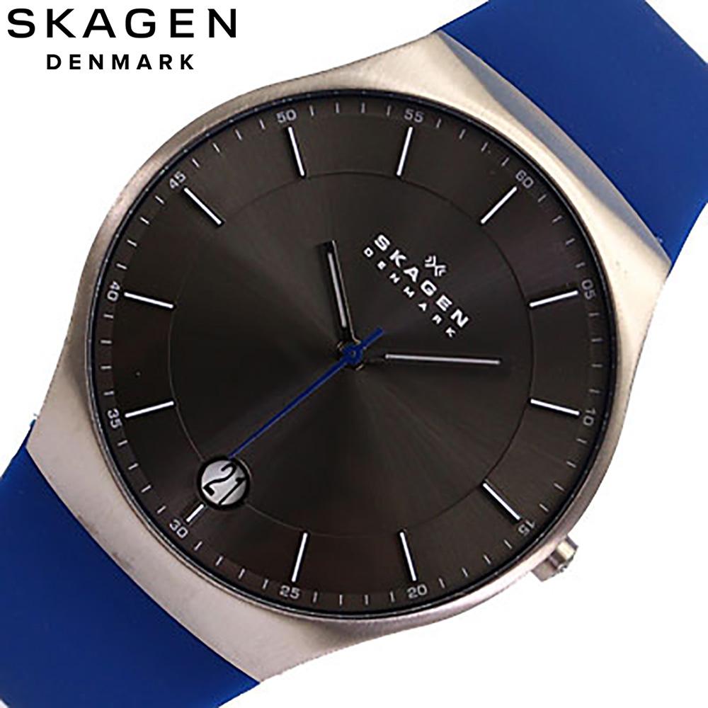 SKAGEN/sukagen SKW6072/人手表橡胶带/MEN'S