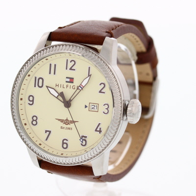 TOMMY HILFIGER / トミーヒルフィガー 1791315腕時計 メンズ レザーベルト 【あす楽対応_東海】
