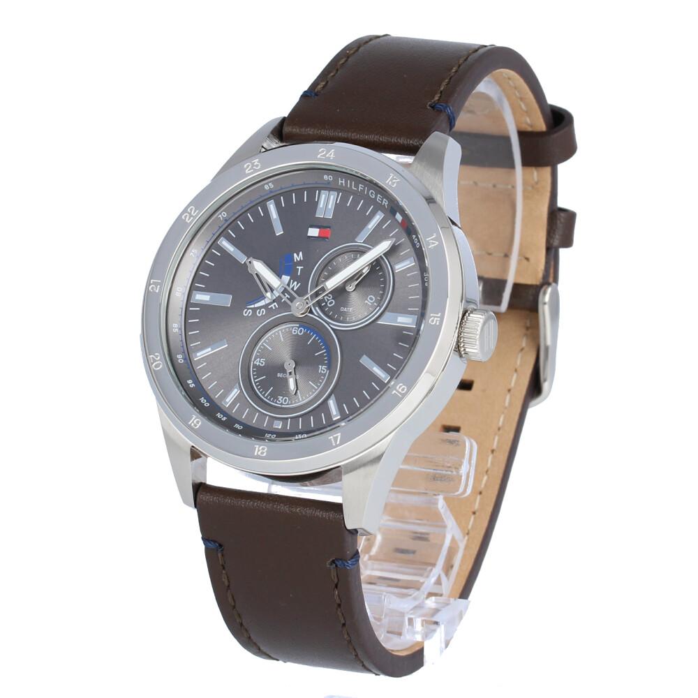 TOMMY HILFIGER / トミーヒルフィガー 1791637 Austin オースティン マルチファンクション 腕時計 メンズ レザー 【あす楽対応_東海】