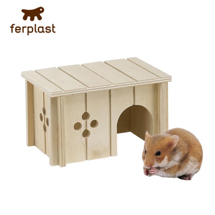 ファンタジーワールド SIN 4642 ウッドハウス 84642099 (小動物用ウッドハウス)【ネコポス不可】