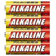 三菱 単4 アルカリ乾電池 4S 即出荷 LR03R 4本パック 超激安