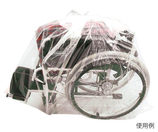 買い物 介護 医療用品 歩行 移動補助 車椅子用袋 0.05×1300×1200mm KG-KI-130120 輸入 4972759528776 透明タイプ
