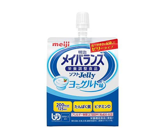 介護・医療用品 食事 明治 メイバランスソフトJelly ヨーグルト味  24本入り 4902705001060