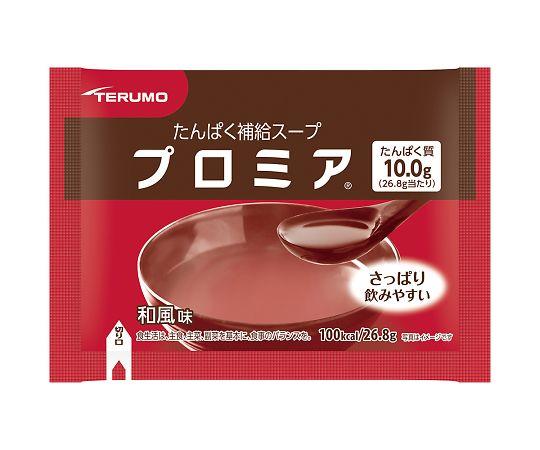 介護・医療用品 食事 テルモ 補給スープ プロミア 和風味  30包入り 4987350619358