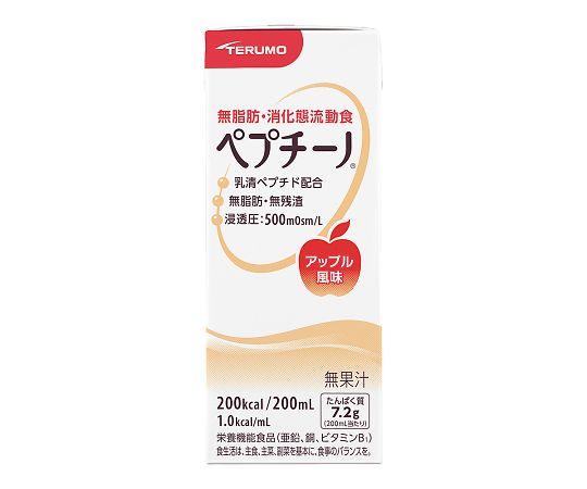 介護・医療用品 食事 テルモ ペプチーノ アップル風味 24本入り 4987350471314