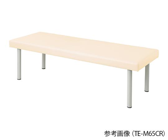 介護 返品交換不可 高級品 医療用品 ベッド関連 カラフル診察台 クリーム 4589638302015 ベッド高さ500mm