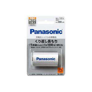 Panasonic パナソニック 驚きの価格が実現 休み ニッケル水素電池 BK-2MGC 1 単2形