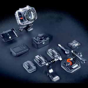 Kenko Tokina ケンコートキナー 小型フルハイビジョンデジタルムービーカメラ AEE MagiCam SD19A ヘルメットパッケージ
