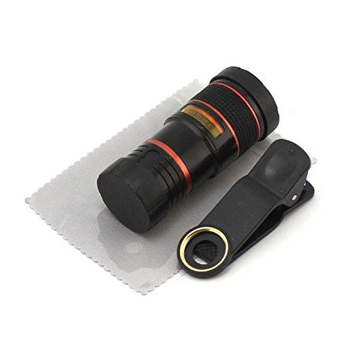 日本信任技术普遍剪辑镜头 8 x 长焦类型位 JTT UCLENS8Z BK