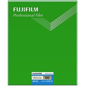 富士フィルム フジクローム ベルビア50 シートフィルム 8X10(20枚入) CUT VELVIA50 NP 8X10 20