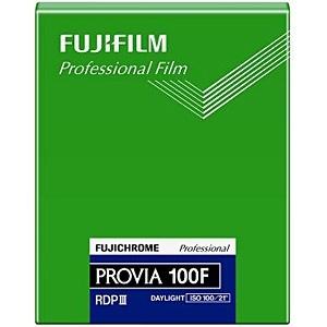 富士フィルム フジクローム プロビア100F シートフィルム 4X5(20枚入) CUT PROVIA100F NP 4X5 20