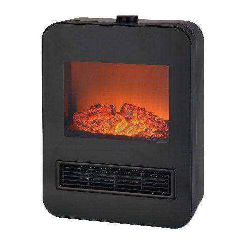 テクノス 暖炉型セラミックファンヒーター 1200W ブラック TEKNOS TD-S1201(BK)