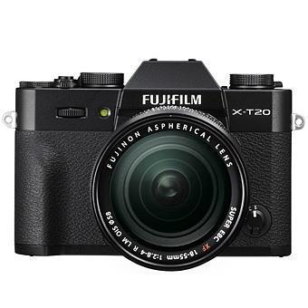 富士フィルム X-T20 / XF18-55mmF2.8-4 R LM OISレンズキット ブラック