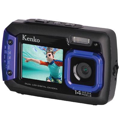 双显示器 Kenko 防震防水数码相机 DSC-1480DW