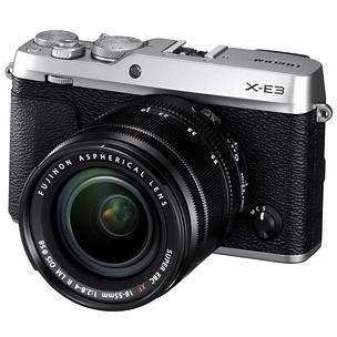 富士フィルム ミラーレスデジタルカメラ X-E3LK-S レンズキット シルバー