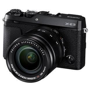富士フィルム ミラーレスデジタルカメラ X-E3LK-B レンズキット ブラック