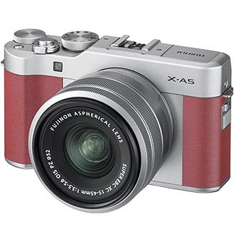 富士フィルム X-A5ピンクレンズキット FUJIFILM X-A5LK-P