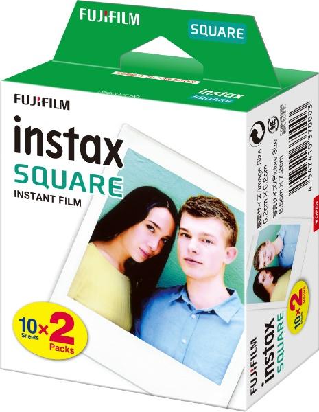 富士フィルム チェキスクエア用フィルム600枚 インスタントカラーフィルム instax SQUARE 20枚パックx30 4547410370003