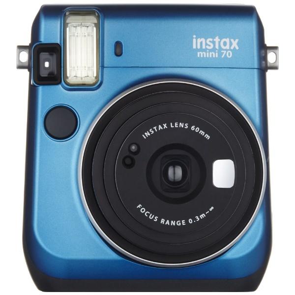 富士フィルムチェキ instax mini70N ブルー