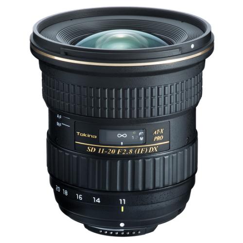トキナー交換レンズ 11-20mm F2.8(IF) ASPHERICAL AT-X11-20 PRO DX CAF キャノンマウント
