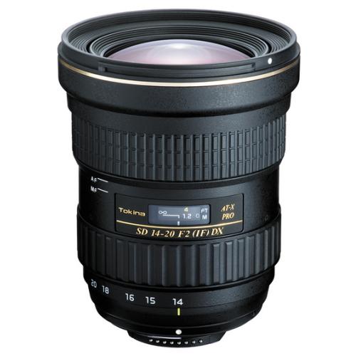 トキナー交換レンズ 14-20mm F2 (IF) AT-X14-20 F2.0 PRO DX ニコンマウント