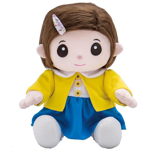 送料無料 ! おしゃべり人形で脳トレ のんちゃんと楽しく ものしりパートナー いっしょに脳トレ おりこうのんちゃん