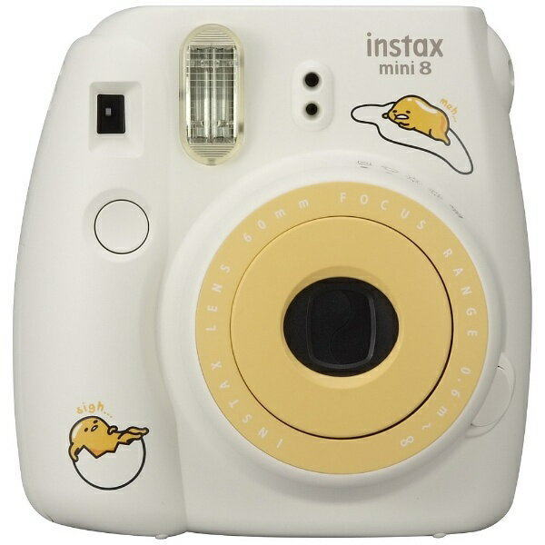富士フィルム(フジフィルム)チェキinstax mini8+ プラス ぐでたま+通常フィルム100枚付き
