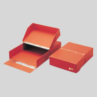 オフィス用品 文具 2020モデル セキセイ 4974214204546 予約 図面ボックスA4茶 T-280-00