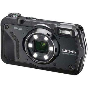 リコー RICOH 防水 防塵 耐寒 アウトドアデジタルカメラ WG-6 ブラック