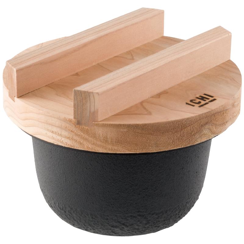 【ギフト包装・のし無料】ICHI TETSU GAMA ごはん鍋(2合炊)