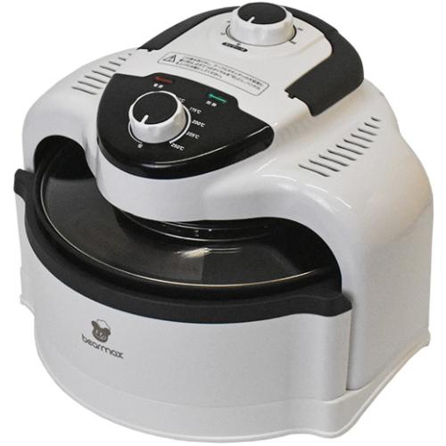 揚げる 焼く 煮るがこれ一台 セール ノンオイルでヘルシー調理 クマザキエイム 驚きの値段で エアロオーブン AO-250W ホワイト×ブラック Bearmax